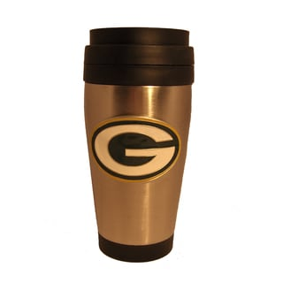 Green Bay Packers Stainless Steel Travel Coffee Tumbler