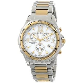 Citizen Women's FB1354-57A Two Tone Chronograph Watch