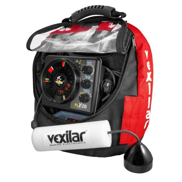 Vexilar FLX-28 Ice ProPack II Locator with Pro View Ice Ducer