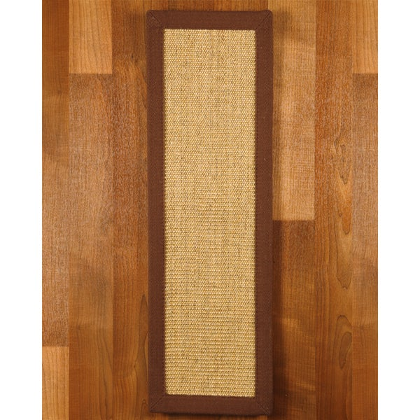 Natural Area Rugs Handcrafted Sisal Carpet Stair Tread (Set of 13)