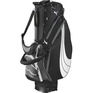 Cobra/ Puma Form Stripe Black Stand Golf Bag