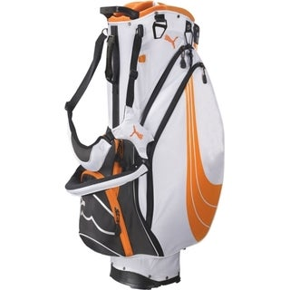 Cobra/ Puma Form Stripe Orange Stand Golf Bag