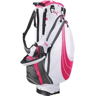 Cobra/ Puma Form Stripe Pink Stand Golf Bag