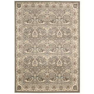 Rug Squared Springfield Oriental Grey Area Rug (7'10 x 10'6)