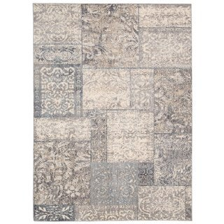 Rug Squared Princeton Multicolor Abstract Area Rug (7'9 x 9'9)