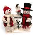 26-inch Snowman Pair