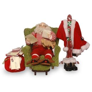 16-inch Sofa with Santa