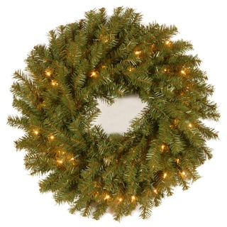 30-inch Norwood Fir Wreath - Reshippable Brown Box