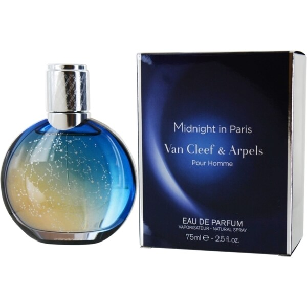 Van Cleef & Arpels Midnight in Paris Men's 2.5-ounce Eau de Parfum Spray