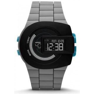 Diesel Men's DZ7301 Viewfinder Black Dial Grey Silicone Watch