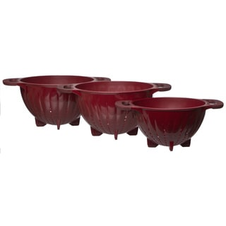KitchenAid Red Colanders (Set of 3)