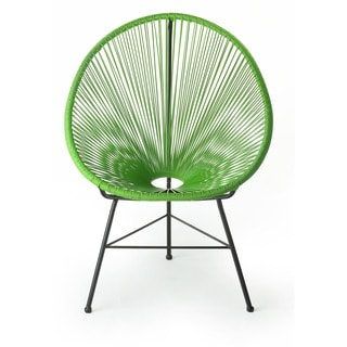 Design Tree Home Acapulco Green Oval Lounge Chair (China)