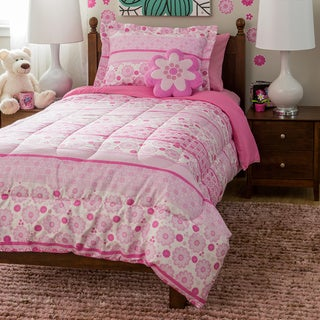 Kids Collection Ditsy Bloom 4-Piece Comforter Set