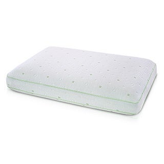 SwissLux Vitality CoolCLOTH Gusseted Memory Foam Pillow
