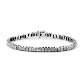 Diamonds For a Cure 14k White Gold 7/8ct TDW Diamond Tennis Bracelet (F-G,VS1-VS2)