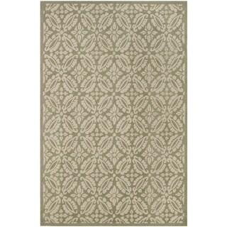 Safavieh Hand-hooked Chelsea Sage Wool Rug (7'9 x 9'9)