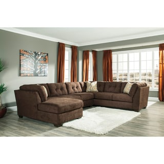 Signature Design by Ashley Delta City 3-piece Corner Chaise, Sofa and Armless Loveseat