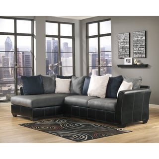 Signature Design by Ashley Masoli Cobblestone Sofa and Corner Chaise Sectional