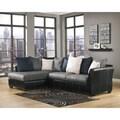 Signature Design by Ashley Masoli Cobblestone Sofa and Corner Chaise Sectional