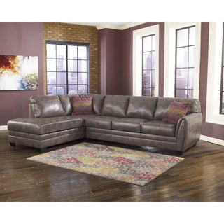 Signature Design by Ashley Sarai DuraBlend Corner Chaise and Sofa Sectional