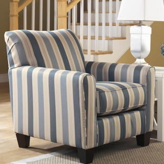 Signature Designs by Ashley Caltiff Blue Accent Chair
