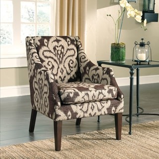 Signature Designs by Ashley Longdon Place Chocolate Accent Chair