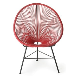 Design Tree Home Red Acapulco Lounge Chair (China)