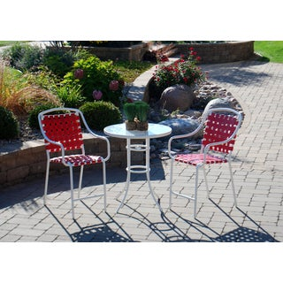 Sun Casual Harper 3-piece High Dining Set