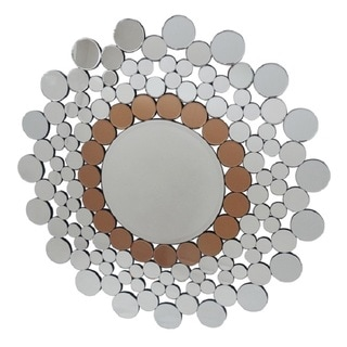 Decorative Circular Bronze Mirror
