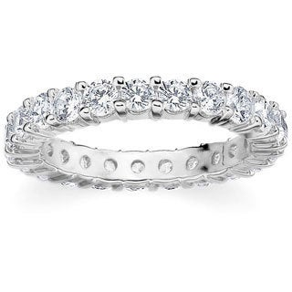 Amore Platinum 2ct TDW Shared Prong Diamond Wedding Band (G-H, SI1-SI2)