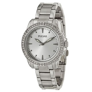 Pulsar Women's PH8091 'Night Out' Stainless Steel Quartz Watch