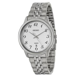 Seiko Men's 'Bracelet' Stainless Steel Quartz Watch