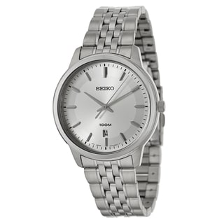Seiko Men's 'Bracelet' Stainless Steel Quartz Watch