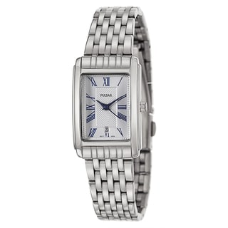 Pulsar Women's 'Traditional' Stainless Steel Quartz Watch