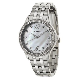 Pulsar Women's 'Night Out' Stainless Steel Quartz Watch