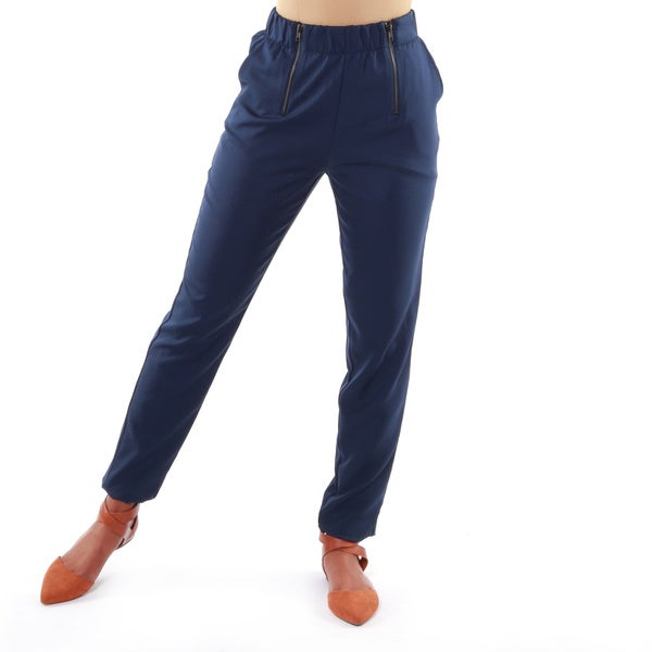 Hadari Women's High Waist Casual Pants