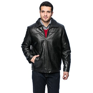 Christian Reed Men's 'Dean' Leather Jacket