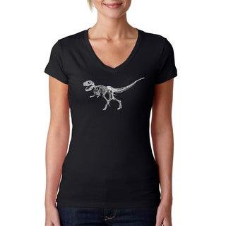 Women's Dinosaur Bones T-Rex T-shirt