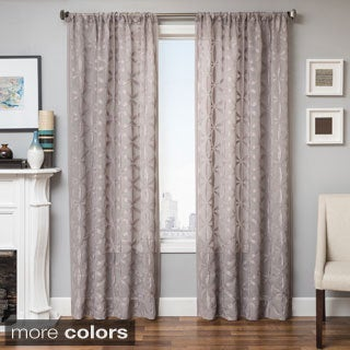 Sander Sheer Grommet Top Curtain Panel