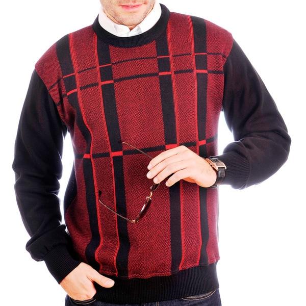 Tosani Men's Cotton Crew-neck Sweater 14267929