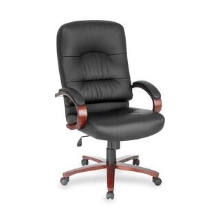 Lorell Woodbridge Executive High-Back Chair