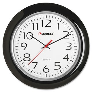 Lorell Wall Clock Black