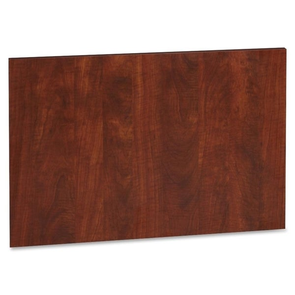 Lorell Accent Series Cherry Laminate Modesty Panel