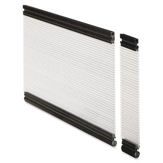 Lorell 24-inch Wide Glazed Desktop Panel System