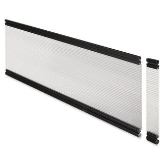 Lorell Desktop 36-inch Wide Glazed Panel System