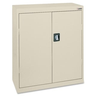 Lorell Fortress Series Putty Storage Cabinet
