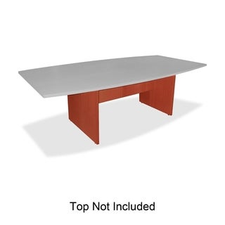 Lorell Essentials Conference Table Base Fabric Cherry
