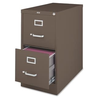 Lorell Fortress Series 26.5-inch Letter-size 2-drawer Vertical Files