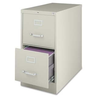 Lorell Putty Metal Vertical File