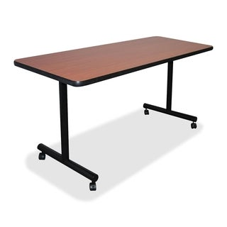 Lorell Rectangular Cherry Training Table Top